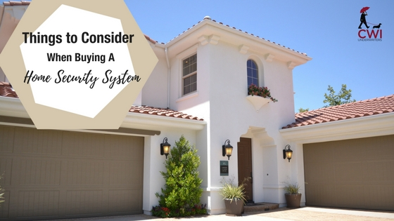 Things To Consider When Buying A Home Security System